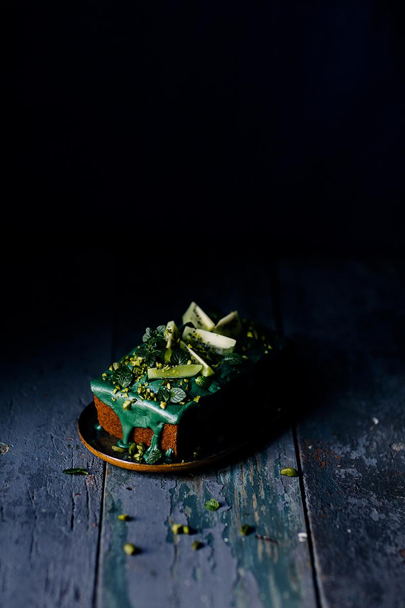 Green zucchini cake by Marta Greber