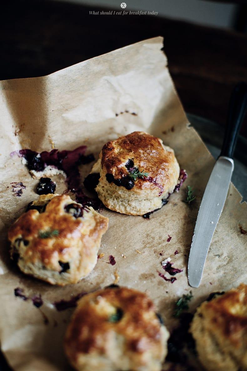 Blueberry scones by Marta Greber