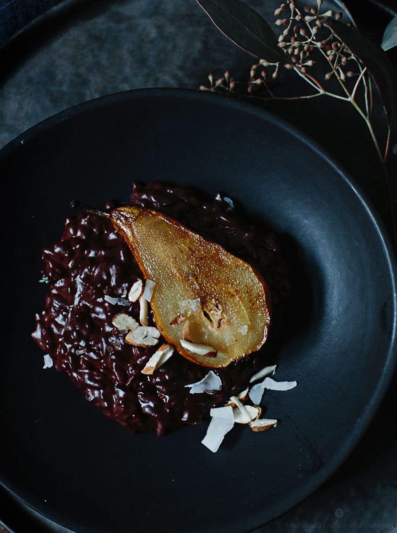 warm chocolate risotto recipes dishmaps warm chocolate risotto recipes ...